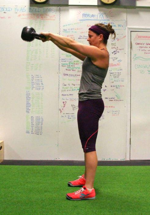Meg Crossfit Beacon KB Swing